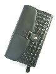 メッシュ財布ブラックwf