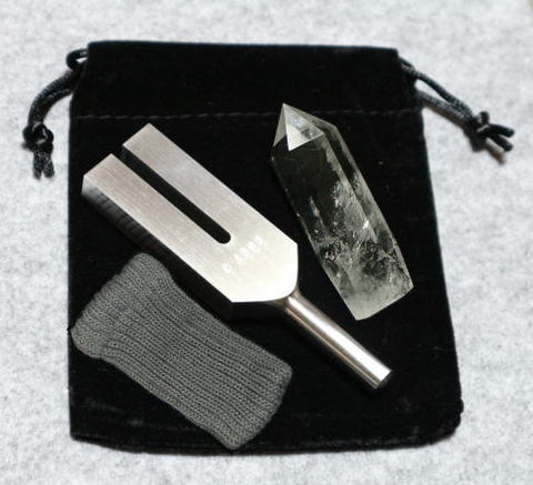 クリスタル・チューナー(日本製)【AA】水晶ポイント(XL)付