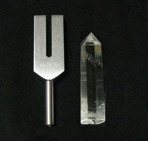 クリスタル・チューナー(Biosonic製【AA】水晶ポイント2XL付)