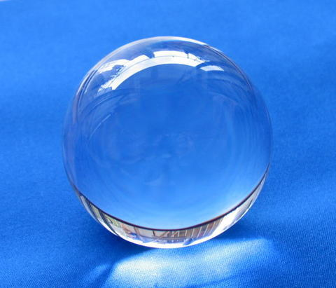 【最上級】天然水晶AA丸玉35mm(鑑別書/台座付)
