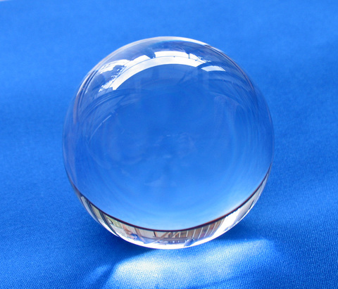 【最上級】天然水晶AA丸玉38mm(鑑別書/台座付)
