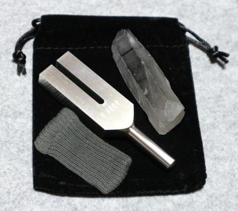 クリスタル・チューナー(日本製)ヒマラヤ水晶ポイント付