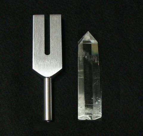 クリスタル・チューナー(Biosonic製【A】水晶ポイントXL~付)