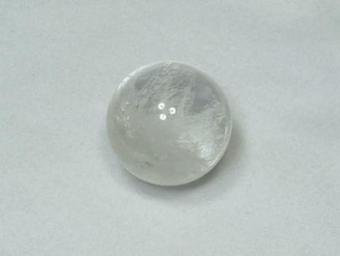 地鎮・浄化用水晶丸玉(R)単品【約33mm球】