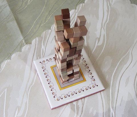 古代建築 タイルボード