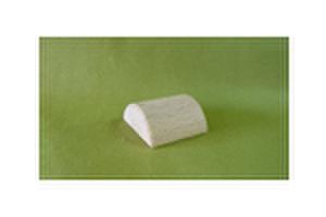 選べる積み木 P011          半円柱 40φx40(半円) (mm)