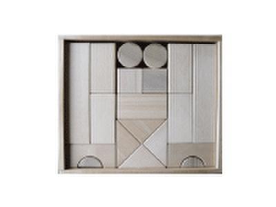 積み木のセット 02          積み木BOX付き 24ピース