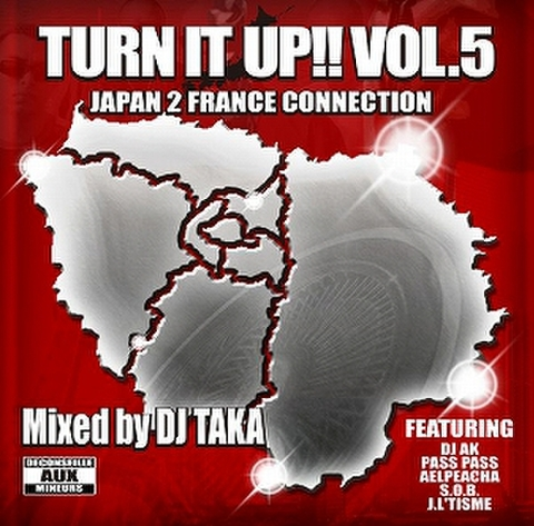 DJ TAKA / TURN IT UP!! Vol.5