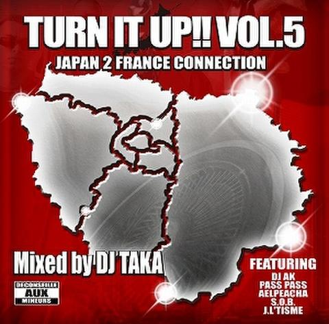 DJ TAKA / TURN IT UP!! Vol.5