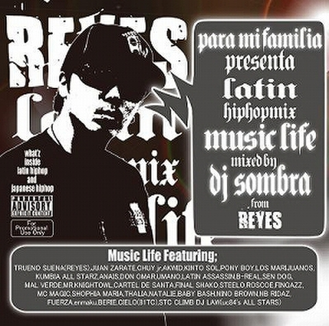 DJ SOMBRA / MUSIC LIFE