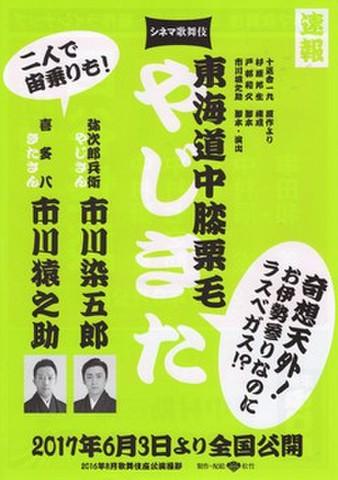 映画チラシ: シネマ歌舞伎 東海道中膝栗毛/四谷怪談/め組の喧嘩(A4判)