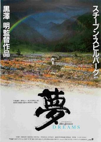 映画チラシ: 夢(邦題黒)