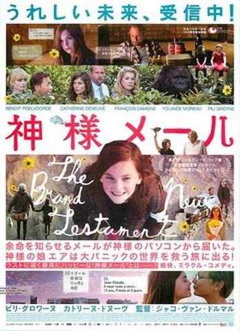 映画チラシ: 神様メール(うれしい未来~)
