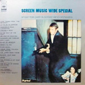 """LPレコード728: SCREEN MUSIC WIDE SPECIAL """"ACTION & SUSPENSE""""THEME 20 ゲッタウェイ/雨の訪問者/死刑台のエレベーター/スーパーフライ/夜の大捜査線/他"""