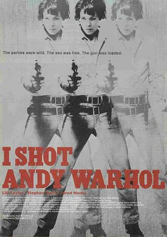 映画チラシ: I SHOT ANDY WARHOL