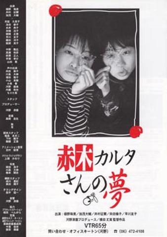 映画チラシ: 赤木カルタさんの夢(A4判)