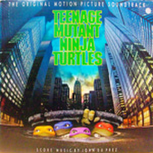 LPレコード315: ミュータント・タートルズ(輸入盤・ジャケットパンチ穴あり)