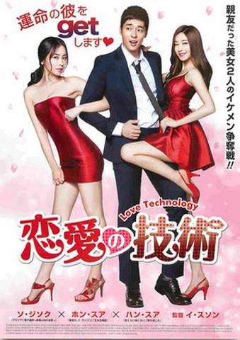 映画チラシ: 恋愛の技術