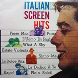 LPレコード596: イタリアン・スクリーンヒット 若者のすべて/くち紅/わらの男/太陽の誘惑/激しい季節/他(17cm LP)