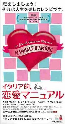イタリア的、恋愛マニュアル(半券)