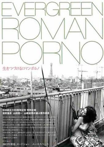 映画チラシ: EVERGREEN ROMAN PORNO 生きつづけるロマンポルノ/Nikkatsu Movie 100 Years of Brilliance 日活映画100年の青春