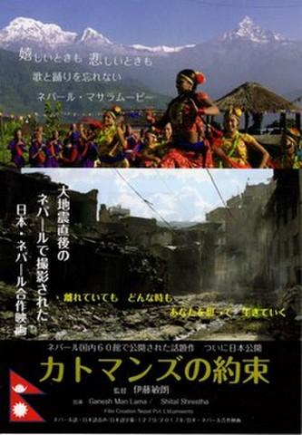 映画チラシ: カトマンズの約束(小型)