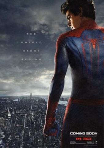 映画チラシ: アメイジング・スパイダーマン(小型・ポストカード・題字なし)