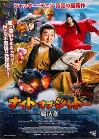 映画チラシ: ナイト・オブ・シャドー 魔法拳