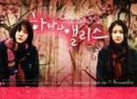 韓国チラシ307: 花とアリス