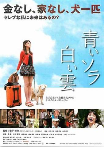 映画チラシ: 青いソラ白い雲