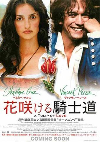 映画チラシ: 花咲ける騎士道(リュック・ベッソン、すてきな恋~)