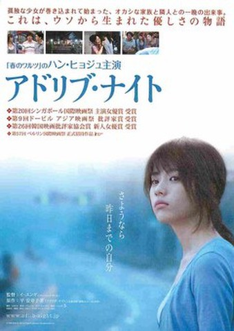 映画チラシ: アドリブ・ナイト