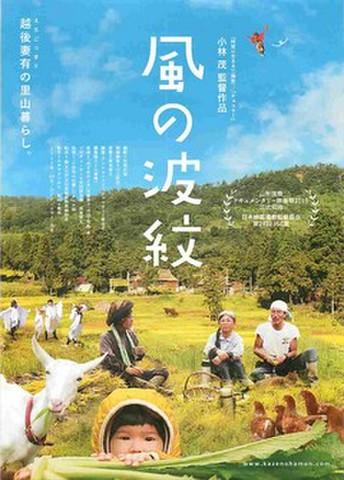 映画チラシ: 風の波紋(題字タテ)