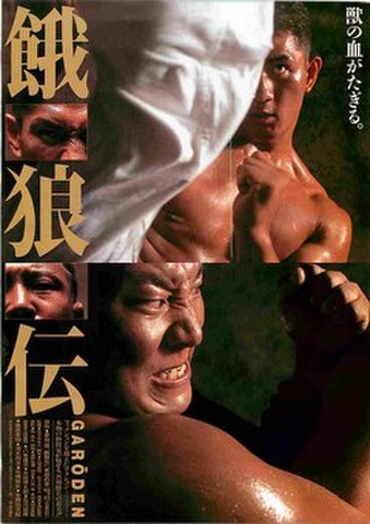 映画チラシ: 餓狼伝(フルカラー)