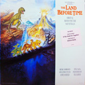 LPレコード480: リトルフットの大冒険 謎の恐竜大陸(輸入盤)