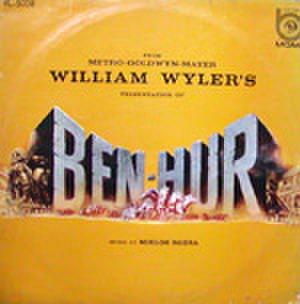 LPレコード069: ベン・ハー(ジャケット破損あり)