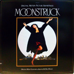 LPレコード389: 月の輝く夜に(輸入盤・ジャケット切込みあり)