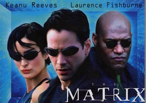 映画チラシ: マトリックス(4枚折)