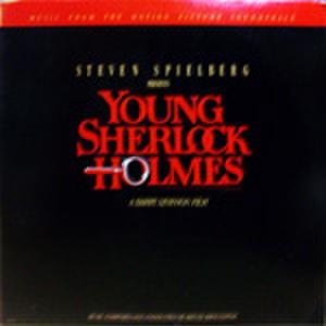 LPレコード293: ヤング・シャーロック ピラミッドの謎(輸入盤・ジャケット角折れあり)
