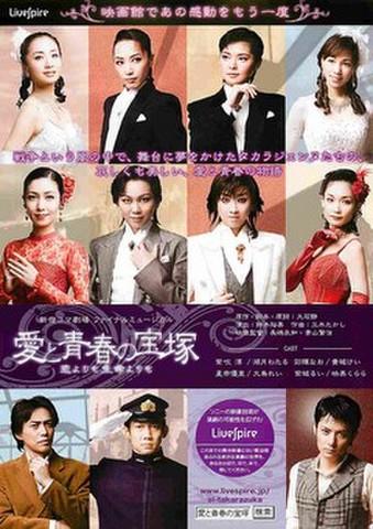 映画チラシ: 愛と青春の宝塚 恋よりも生命よりも