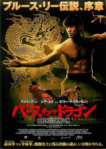 映画チラシ: バース・オブ・ザ・ドラゴン