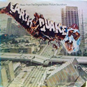 LPレコード396: 大地震(輸入盤・ジャケット角欠損あり)