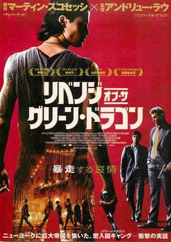 映画チラシ: リベンジ・オブ・ザ・グリーン・ドラゴン(人物あり)