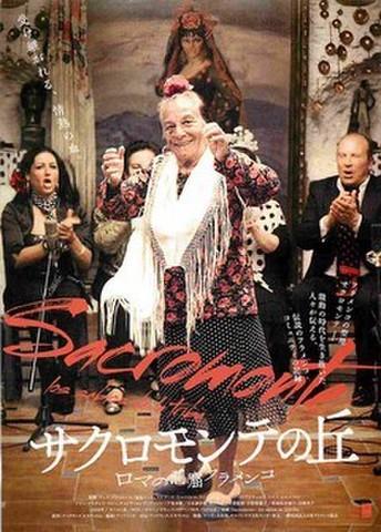 映画チラシ: サクロモンテの丘 ロマの洞窟フラメンコ(グロス紙)