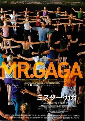 映画チラシ: ミスター・ガガ 心と身体を解き放つダンス