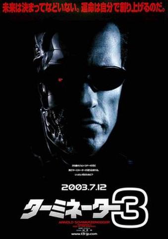映画チラシ: ターミネーター3(1人)
