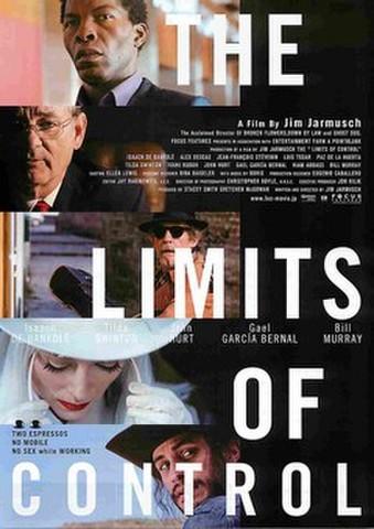 映画チラシ: リミッツ・オブ・コントロール(5人)