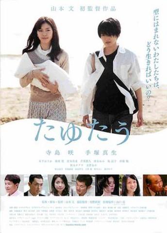映画チラシ: たゆたう(寺島咲)