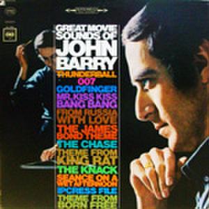 LPレコード605: GREAT MOVIE SOUNDS OF JOHN BARRY サンダーボール作戦/ゴールドフィンガー/ロシアより愛をこめて/ドクター・ノウ/他(輸入盤)