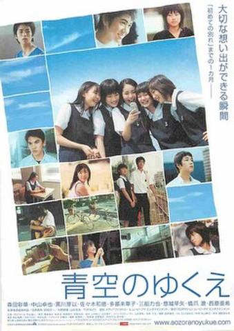 映画チラシ: 青空のゆくえ(大切な想い出が~)